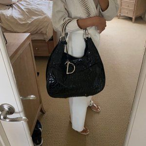 Dior Patent Leather Large Bag - Like NEW